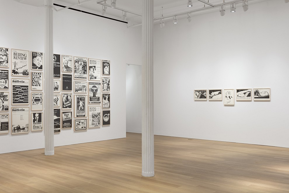 Fernando Bryce: The Decade Review - Installation View