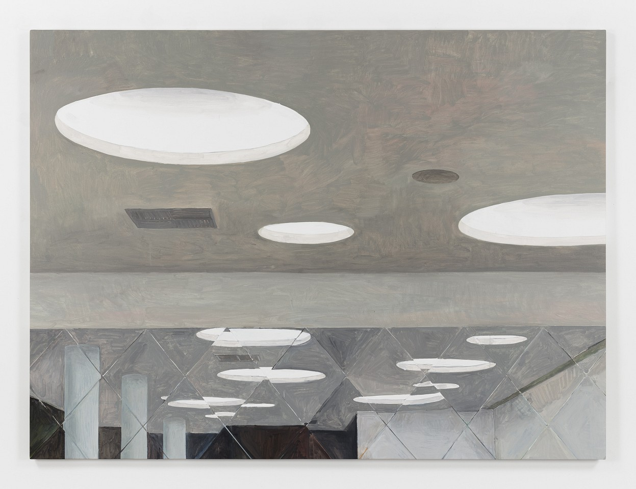 Jorge Macchi ,   False Ceiling  ,  2016     oil on canvas     59 x 78 3/4 in/150 x 200 cm     JOM-16-PA-012