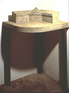 Rita McBride ,   Mini-Mall (More)  ,  1991     concrete     8 1/2  x 22 1/2 x 16 in/ 21.6 x 57 x 40.6 cm     RMC-91-SC-002
