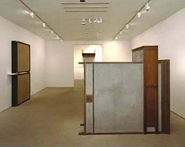 Past Exhibitions: Sculpture: Jennifer Bolande, Willie Cole, Mona Hatoum, Rita McBride, Doris Salcedo  Dec  7, 2002 - Jan 18, 2003