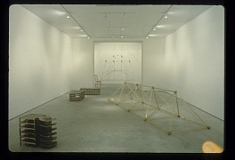 Past Exhibitions: Rita McBride: New Sculpture Nov 14 - Dec 20, 1997